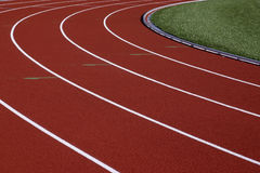 Athletics track Royalty Free Stock Photos
