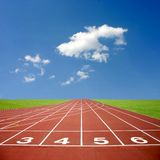 Athletics Track Stock Images