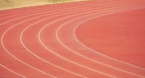 Athletics track Royalty Free Stock Image