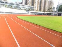 Athletics track Royalty Free Stock Photography
