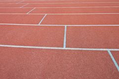 Athletics Track Lane Royalty Free Stock Image