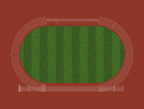 Athletics Track Layout Royalty Free Stock Images