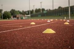 Athletics Track Royalty Free Stock Photos