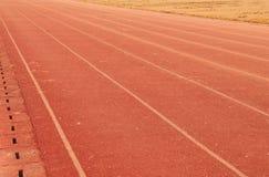 Athletics track Stock Photos