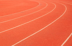 Athletics track Stock Photography