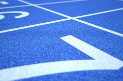 Athletics Track Startline Stock Images