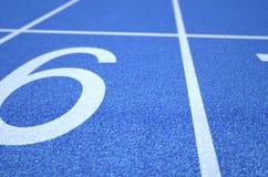 Athletics Track Startline Stock Image