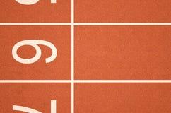 Athletics Track Startline Royalty Free Stock Photography