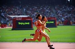 Athletik Stockfoto