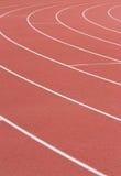 Athletikspur Lizenzfreies Stockbild