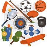 Athletische Ablage Lizenzfreies Stockbild