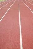 Athletische Bahn Stockfoto