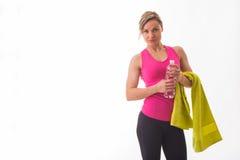 Athletische Blondine Lizenzfreies Stockfoto