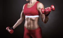 Athletische Frau Lizenzfreie Stockbilder