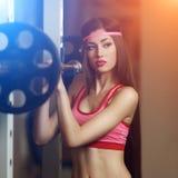 Athletische Frau Stockfoto