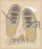 Athletische Schuhe Vektor Abbildung