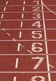 Athletische Spur lizenzfreie stockfotos
