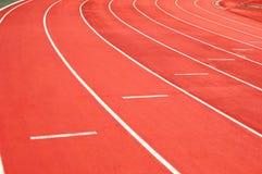 Athletische Spur Lizenzfreies Stockbild
