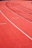 Athletische Spur Stockbild