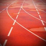 Athletische Spur Lizenzfreies Stockfoto