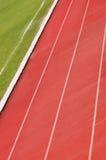 Athletische Spuren Lizenzfreie Stockfotos