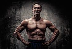 Athletischer Mann von mittlerem Alter Lizenzfreie Stockfotografie