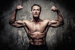 Athletischer Mann von mittlerem Alter Lizenzfreie Stockbilder