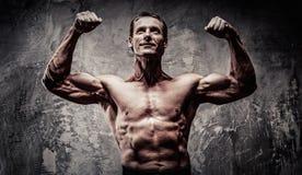 Athletischer Mann von mittlerem Alter Lizenzfreies Stockfoto