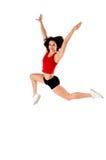 Athletischer Sprung Stockfotos