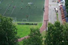 Athletisches Feld Lizenzfreie Stockbilder