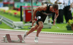 Athletisme stockbilder