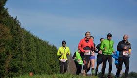 Athletisme, corredores na natureza Fotografia de Stock Royalty Free