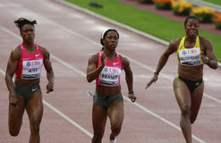 Athletissima Fraser 2009 Immagine Stock