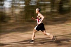 athletrunning Arkivfoto