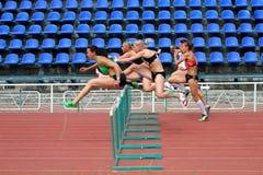 Athlets sull'inizio Immagine Stock Libera da Diritti