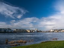 Athlone bridge and river at day Royalty Free Stock Photo