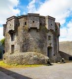 Athlone castle. In summer, Co. Westmeath, Ireland Royalty Free Stock Photos