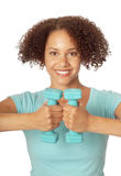 Athlète féminin Images stock