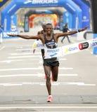 Athlète kenyan Leonard Kipkoech Langat Images libres de droits