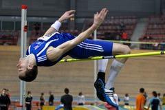 Athlétisme contactant 2010 Photographie stock