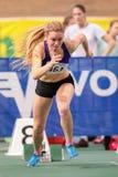 Athlétisme d'intérieur 2015 Photos libres de droits