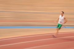 Athlétisme d'intérieur 2015 Photo stock