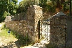 Athos-Halbinsel, Griechenland Stockbilder