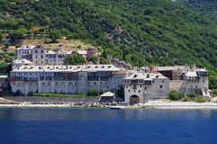 Athos-Halbinsel, Griechenland Stockbild