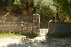 Athos halvö, Grekland Royaltyfria Bilder