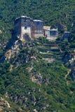 athos monasteru góry simonopetra Zdjęcia Royalty Free