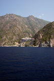 Athos mountain Stock Image