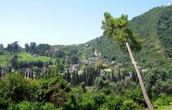 Athos neuf L'Abkhazie Photo libre de droits