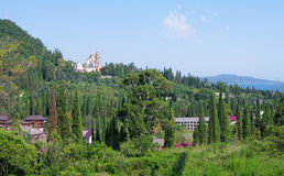 Athos neuf L'Abkhazie Photographie stock
