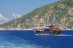 Athos peninsula, Greece Royalty Free Stock Photo